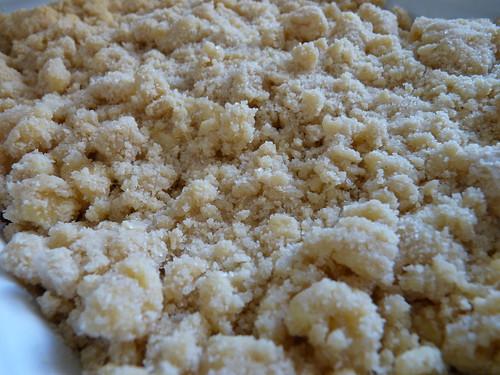 crumble pomme banane choco 02