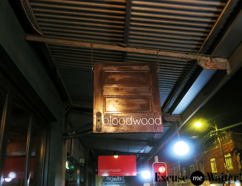 Bloodwood newtown excuse me waiter a food blog for Table 9 newtown