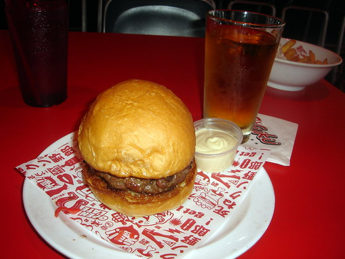 Kinoko Burger aka Mushroom Burger with Pumpkin Cider