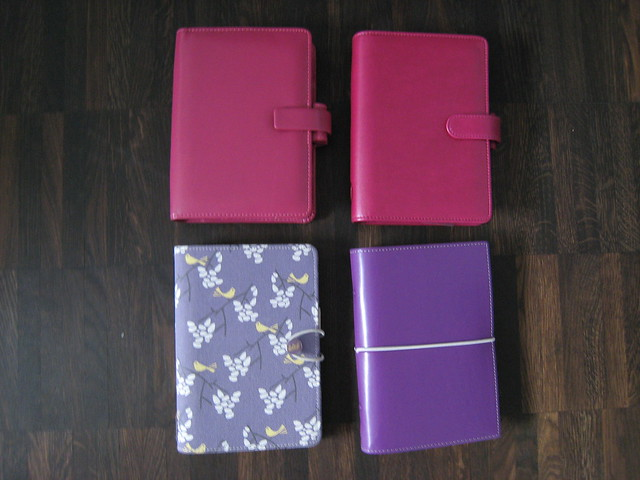 Filofax Colours (7): Pink