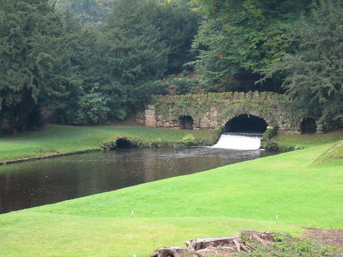 Rustic Bridge, Studley Royal Water Garden