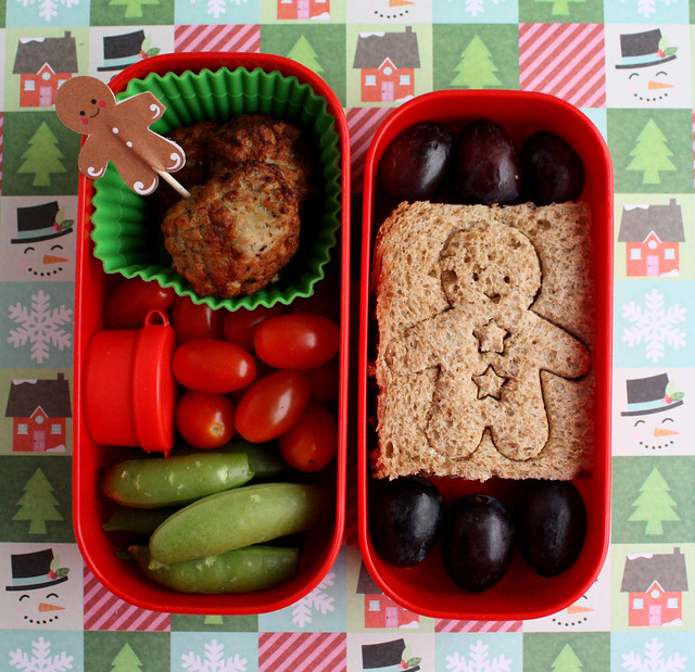 Preschool Gingerbread Bento #366