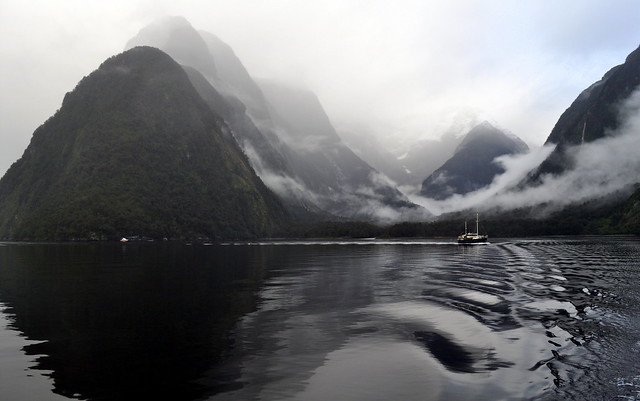 Captivating Milford Sound, by  Vikas Aggarwal March, 2012 for State of the Environment on Flickr.