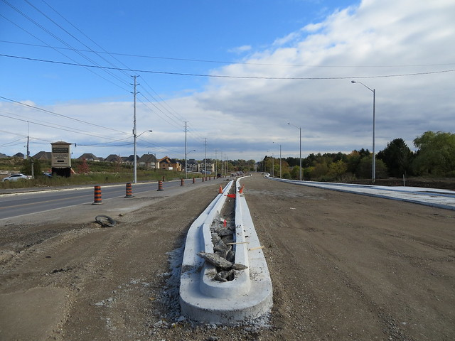 Widening Mississauga Road