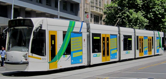 Tram ads: Myki is the only ticket you can use from 29th December