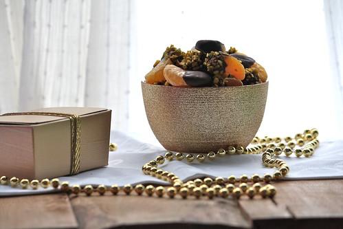 Mandarini al cioccolato con granella di pistacchi