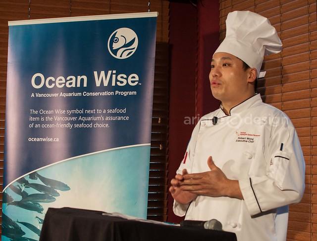 Chongqing OceanWise Media Launch/Chef Robert Wong