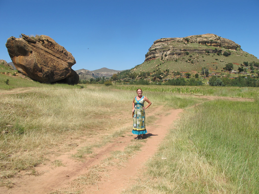 In Lesotho, which was home to a friend of mine who was serving in the Peace Corps. Naturally, I had to visit!