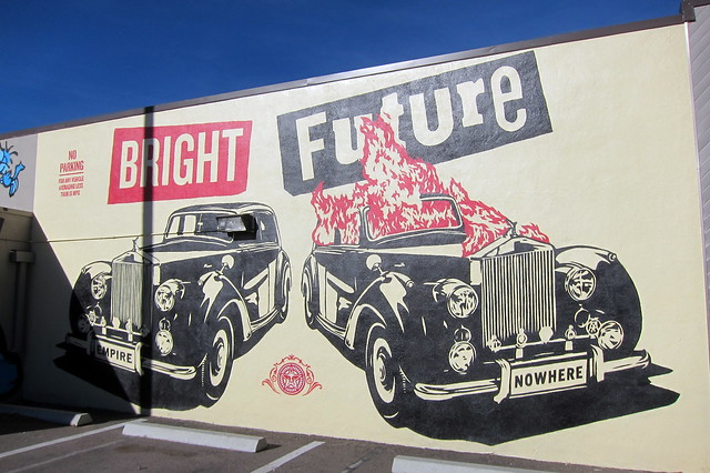 Denver Lincoln Park Center For Visual Arts Shepard Fairey 39 S Bright Future Flickr Photo