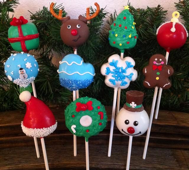 Christmas Cake Pops Flickr - Photo Sharing!