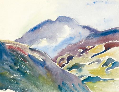 [ G ] Giovanni Giacometti - Mountain Landscape on Oberengadin