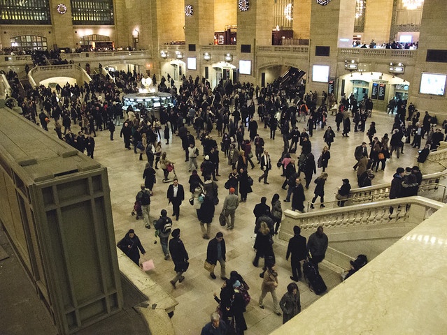 At Grand Central Station