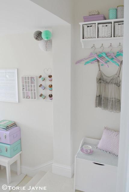 My guest bedroom entrance