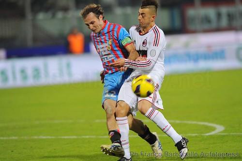 Milan-Catania: probabili formazioni$