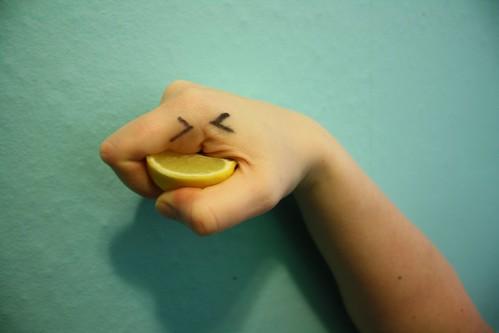 lemon fist by Rakka