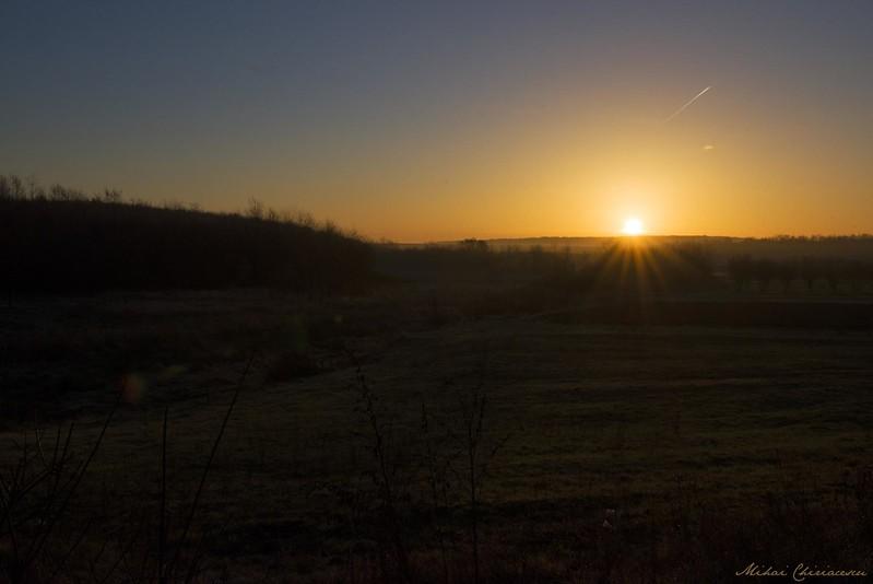 Sunrise in Dambovita