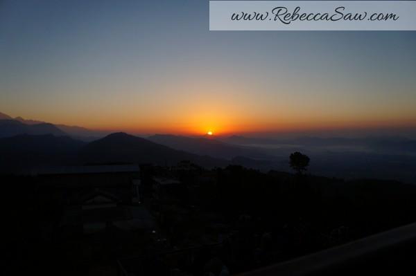 Sarangkot Nepal - sunrise pictures - rebeccasawblog-002