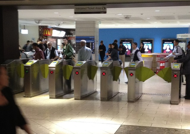 Myki gates: not always reliable