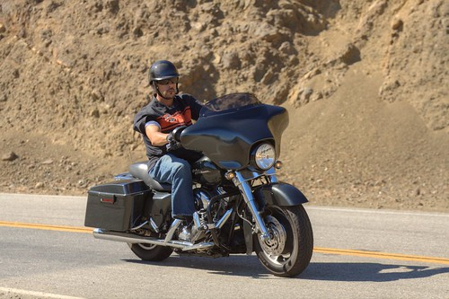 Harley-Davidson on Mulholland Highway