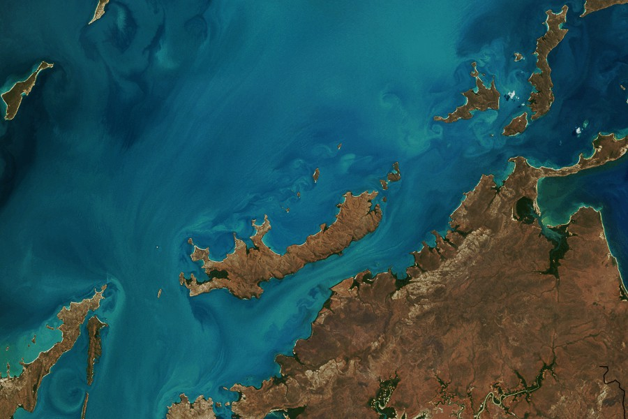 Northern coast of Australia