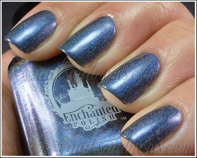 Enchanted Polish Ho Ho Holoday - Bruised Nutcracker 2
