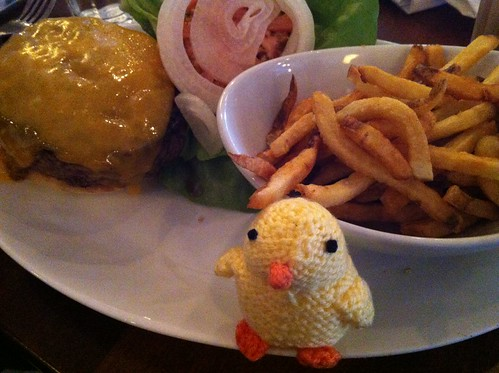 Chick and burger