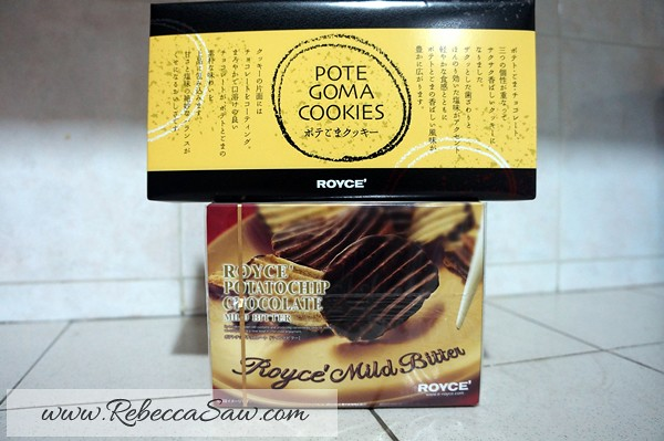 Royce' chocolate malaysia - pote goma cookies