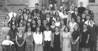 A then-unprecedented number of Pomona seniors were elected to Phi Beta Kappa in May 1996