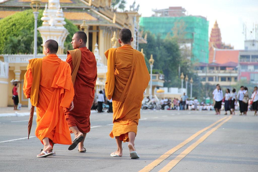 Cerca del Palacio Real · Phnom Phen · Cambodia