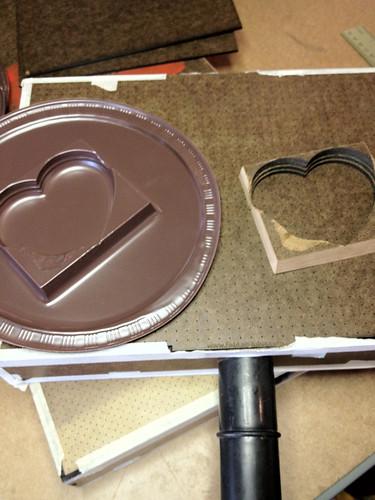 Laser cut vacuum forming box