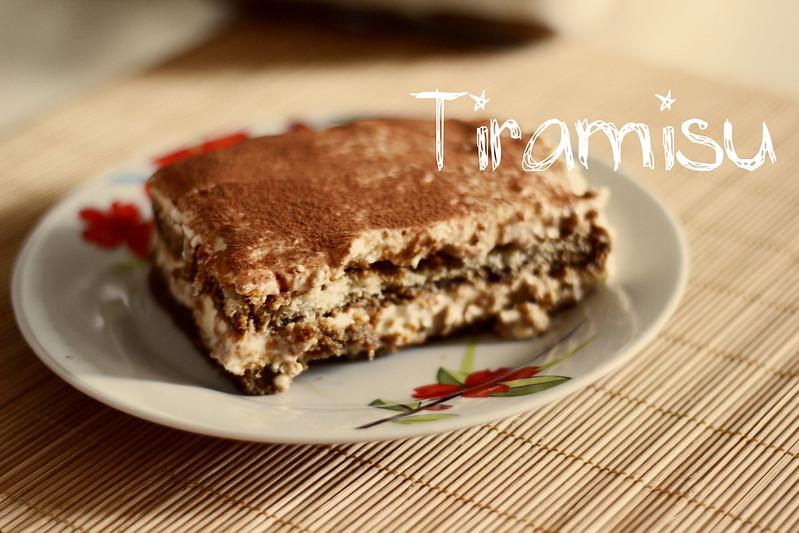 tiramisu: recipe