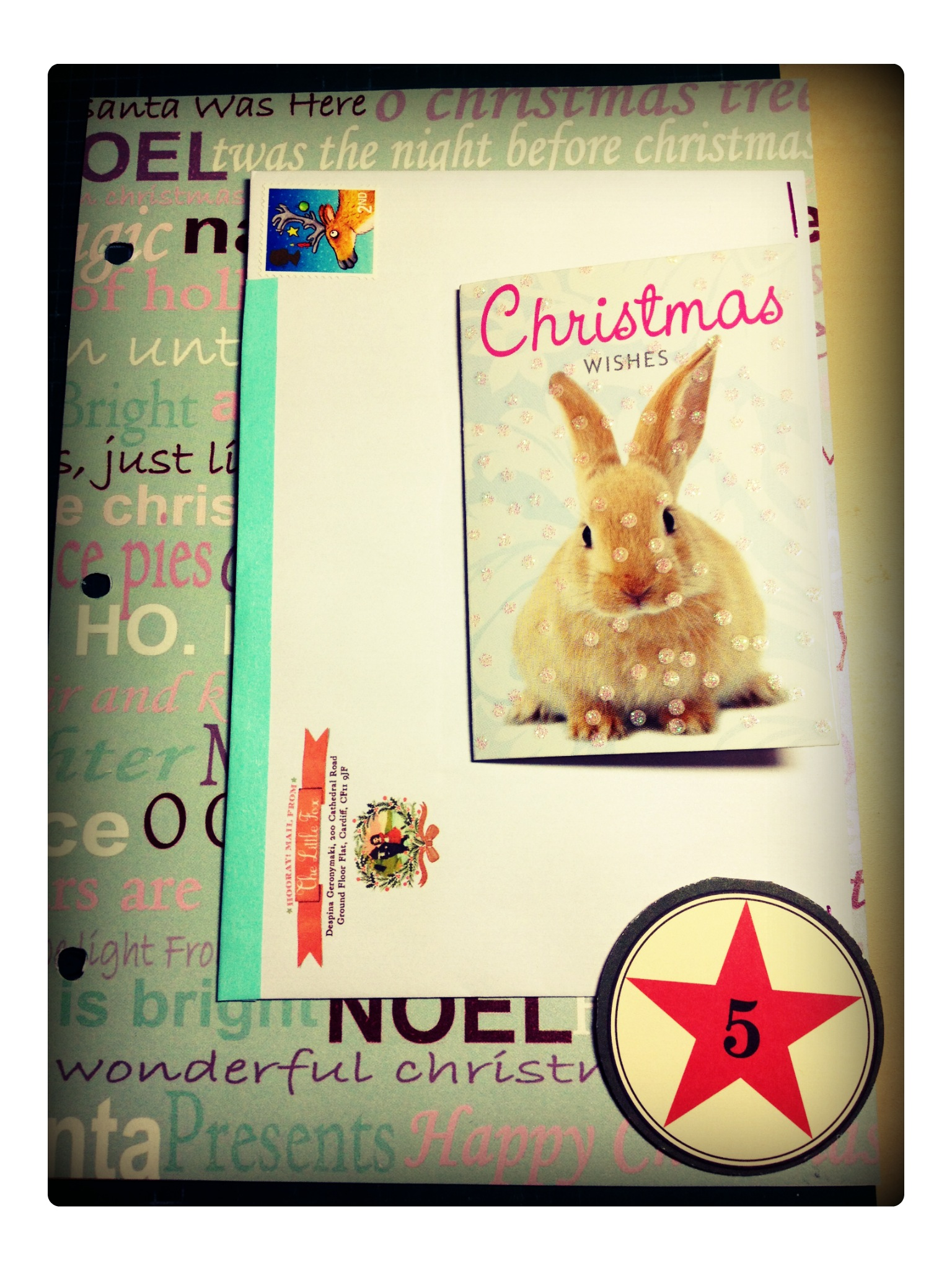 journal your christmas day 5