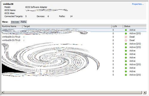 VMware iSCSI :(