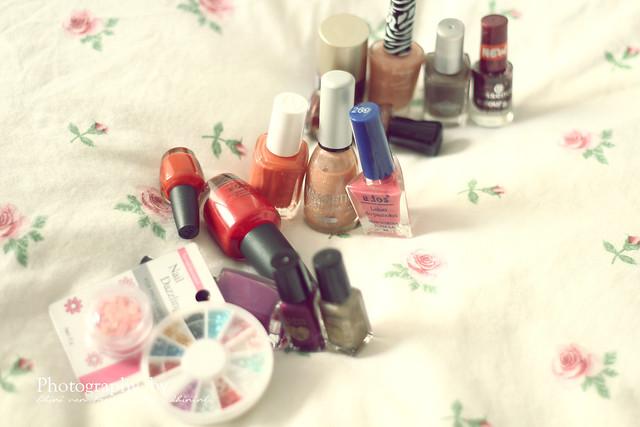 Nail polish swap