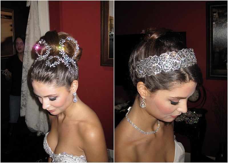 Behind the scenes at the Contemporary Bride Magazine 2013 photo shoot