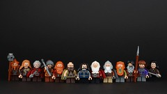 The Company of Dwarves, wallpaper version