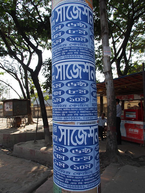 Posters on Telephone Pole