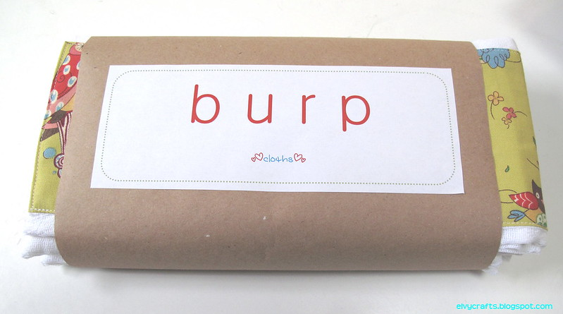 Burp Cloths 2