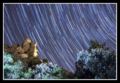 MONTSERRAT STAR TRAILS