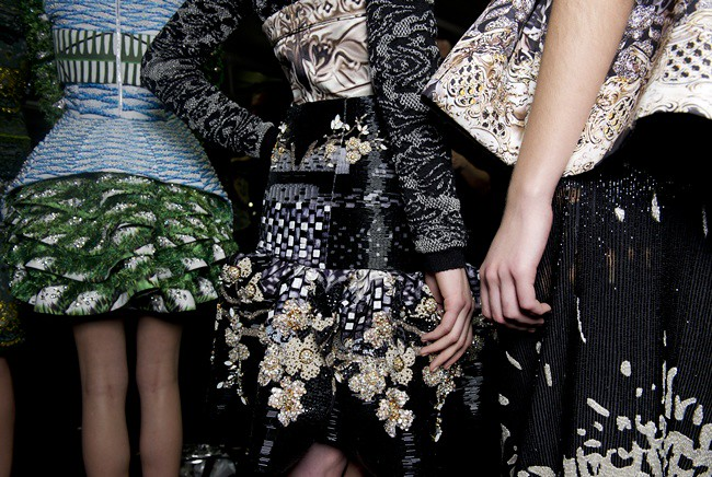 4 Mary_Katrantzou_AW12_Backstage_Look26_31_and_30_Photographer_Jason _Lloyd-Evans