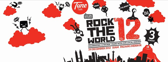 Konsert Rock The World 12