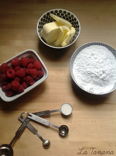 Ingredientes buttercream