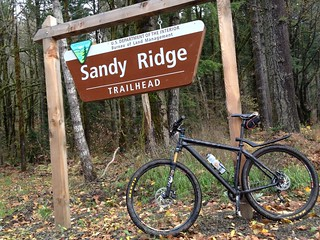 Sandy Ridge sign