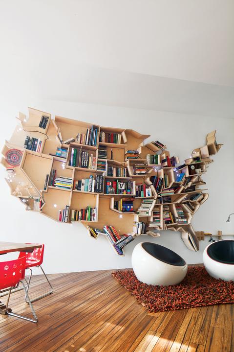 AMERICAN BOOKSHELF BY ANDREI SALTYKOV