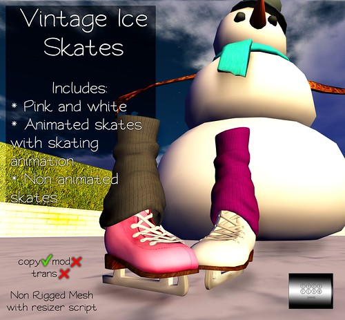 Vintage Ice Skates by even.flow