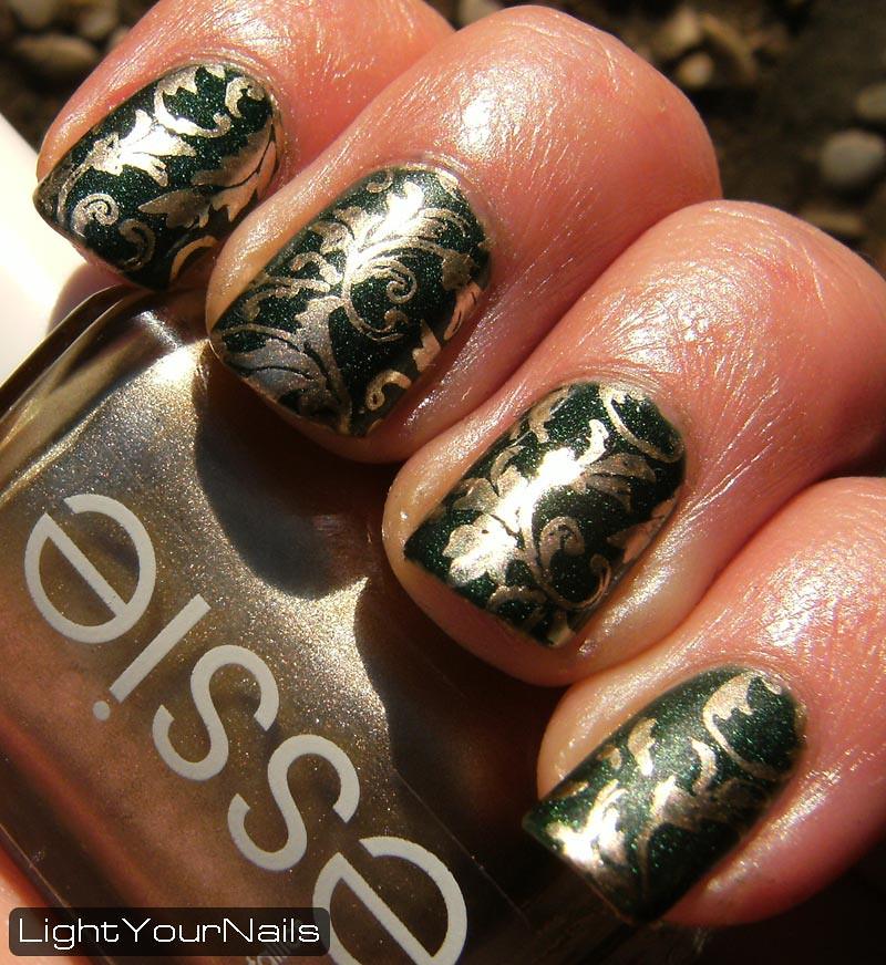 Floral stamping feat. Zoya Veruschka