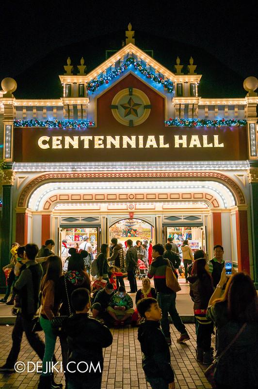 Centennial Hall, night