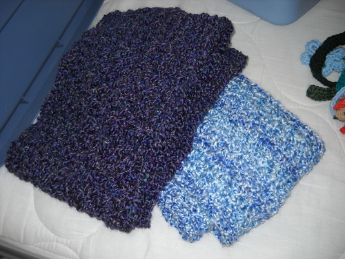 finished scarves