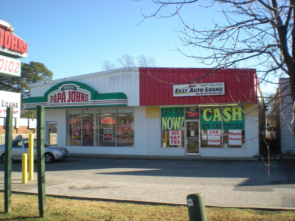 Papa John's/Fast Auto Loans, Inc.