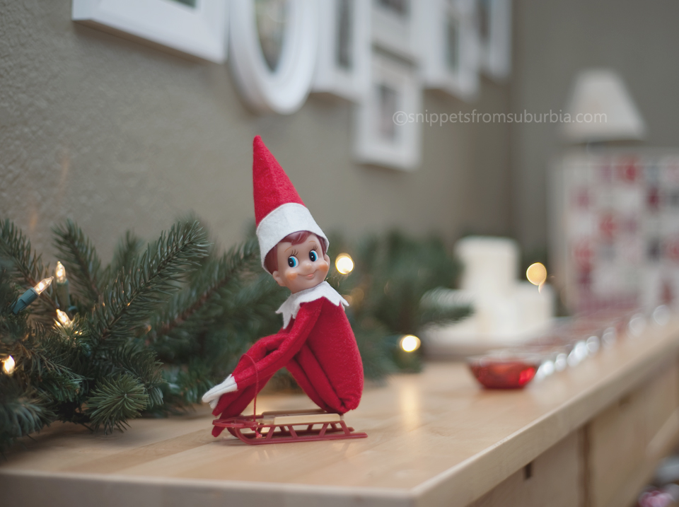 Elf on the Shelf, December 14th